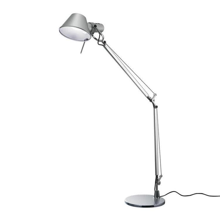 Artemide Lampe à poser Artemide TOLOMEO MINI-Lampe de bureau LED H54cm Argenté