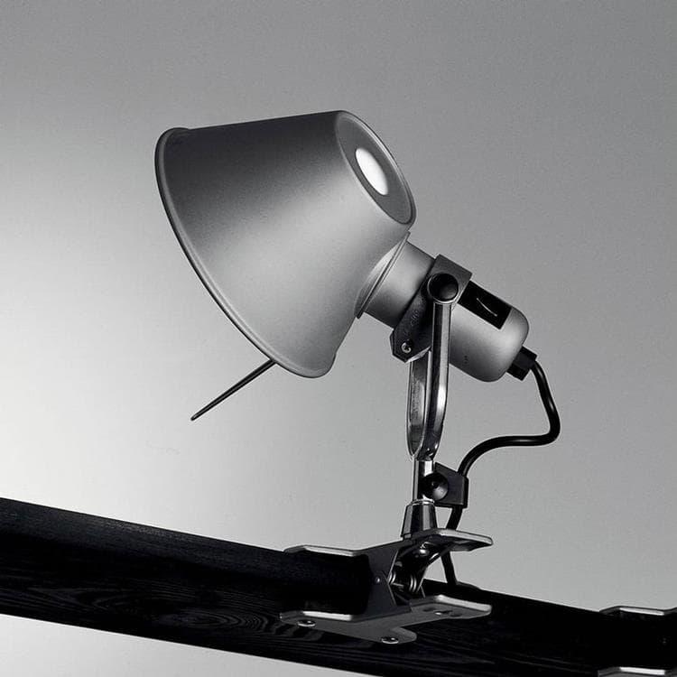 Artemide Lampe à poser Artemide TOLOMEO-Lampe à pince H23cm Argenté