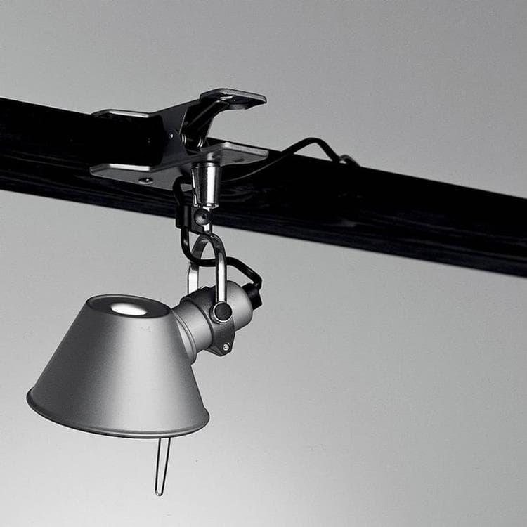 Artemide Lampe à poser Artemide TOLOMEO MICRO-Lampe à pince Orientable LED H20cm Argenté