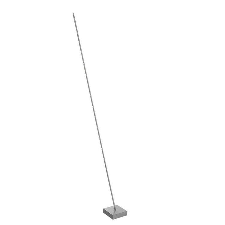 Sompex Lampadaire Sompex PIN-Lampadaire LED 15 Lumières Inclinable Métal Variateur Tactile H179cm Argenté