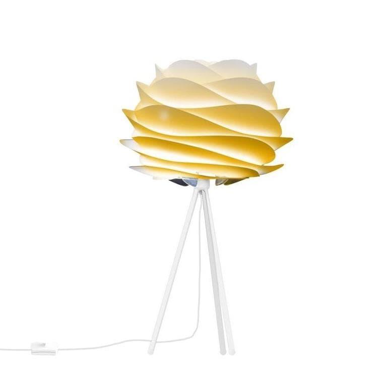 Umage (Vita Copenhagen) Lampe à poser Umage (Vita Copenhagen) CARMINA-Lampe à poser Trépied Blanc Ø32cm Jaune