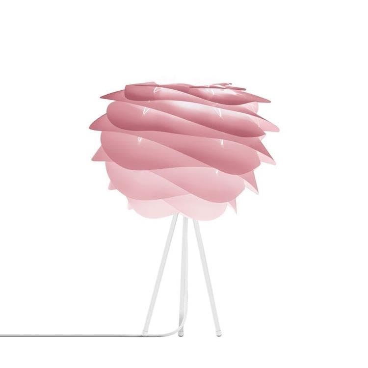 Umage (Vita Copenhagen) Lampe à poser Umage (Vita Copenhagen) CARMINA-Lampe à poser Trépied Blanc Ø32cm Rose