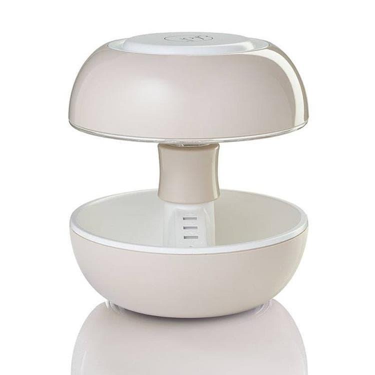 Vivida Lampe à poser Vivida JOYO-Lampe avec port USB Multifonction Laquée H27cm Beige
