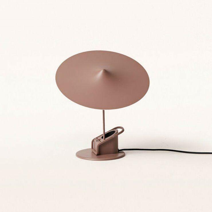 Wästberg Lampe à poser Wästberg Île-Lampe à poser ou à pincer LED Métal Ø19cm Gris