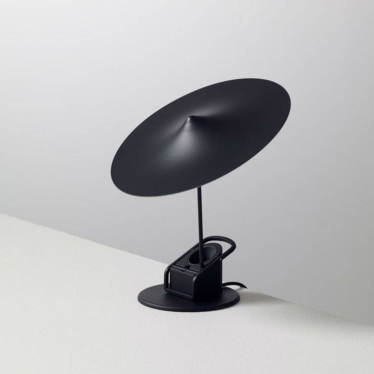 Wästberg Lampe à poser Wästberg Île-Lampe à poser ou à pincer LED Métal Ø19cm Noir