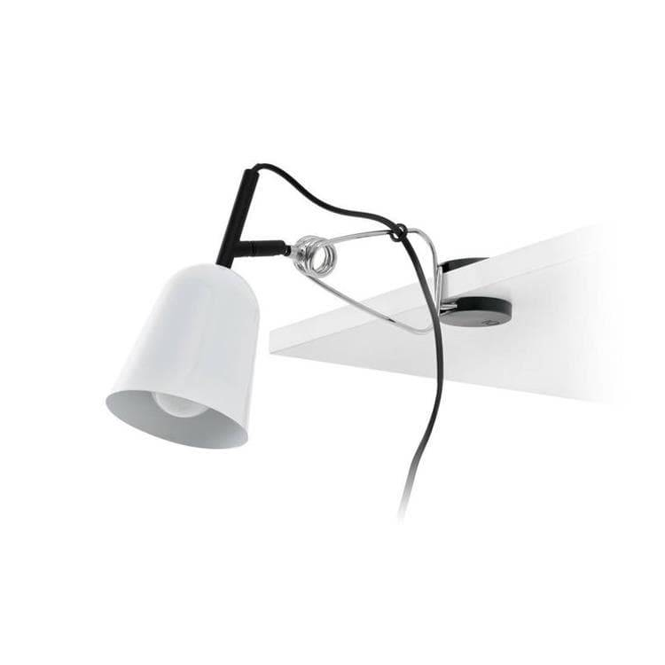 Faro Lampe à poser Faro STUDIO-Lampe à pince Métal Orientable L30cm Blanc