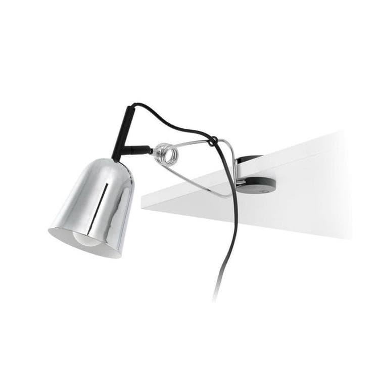 Faro Lampe à poser Faro STUDIO-Lampe à pince Métal Orientable L30cm Argenté