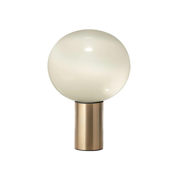 Artemide Lampe à poser Artemide LAGUNA 26-Lampe à Poser Aluminium/Verre H38cm Doré