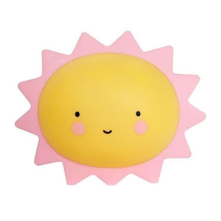 A Little Lovely Company Veilleuse lumineuse A Little Lovely Company MINI SOLEIL-Veilleuse LED Soleil L15,5cm Jaune