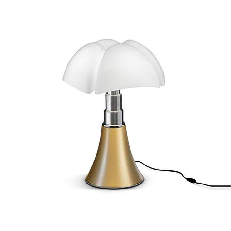 Martinelli Luce Lampe à poser Martinelli Luce MINI PIPISTRELLO-Lampe à poser LED H35cm Laiton