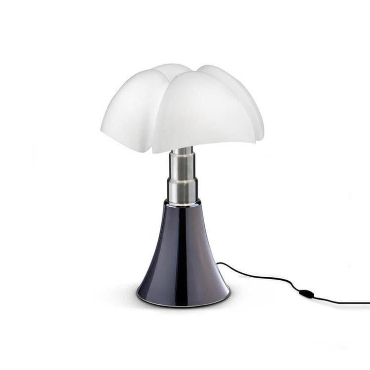 Martinelli Luce Lampe à poser Martinelli Luce MINI PIPISTRELLO-Lampe à poser LED H35cm Argenté