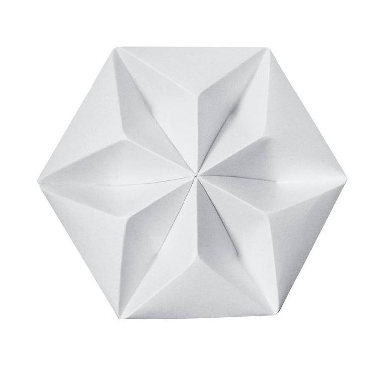 Studio Snowpuppe Accessoire luminaire Studio Snowpuppe KROONUPPE-Rosace Papier Ø20cm Blanc