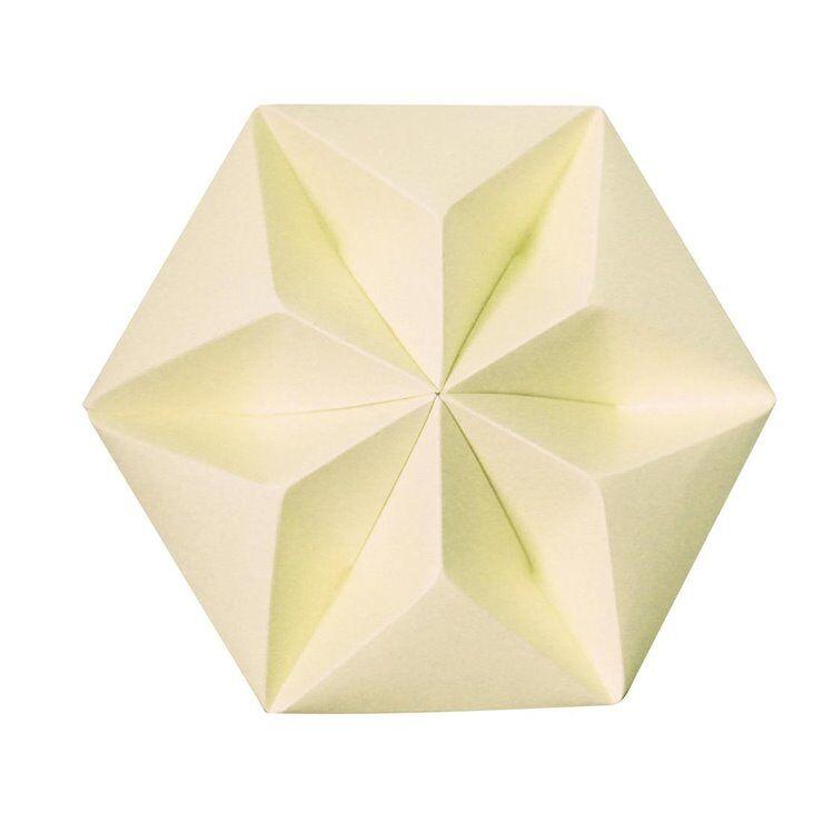Studio Snowpuppe Accessoire luminaire Studio Snowpuppe KROONUPPE-Rosace Papier Ø20cm Jaune