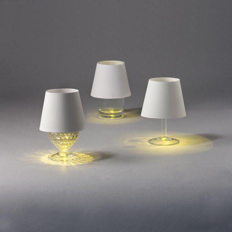 Suck UK Lampe à poser Suck UK FLOATING LIGHT-2 Lampes flottantes rechargeables Liège  Ø4,5cm