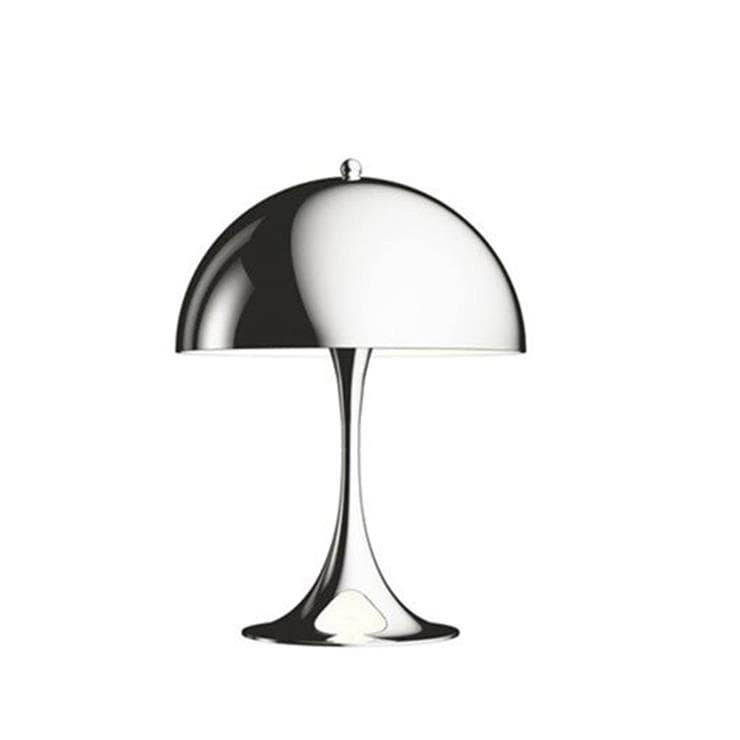 Louis Poulsen Lampe à poser Louis Poulsen PANTHELLA MINI-Lampe à poser LED Métal avec Variateur H33,5cm Argenté