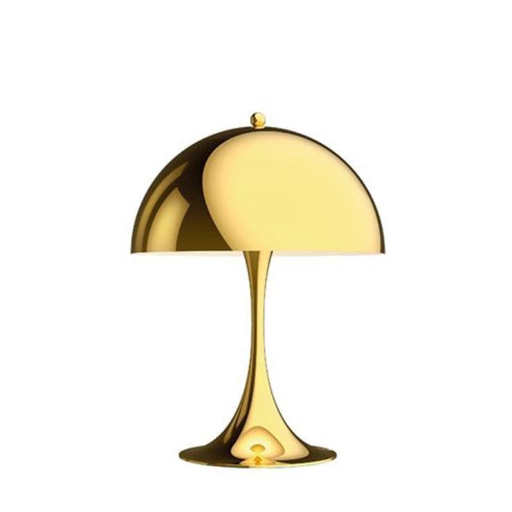 Louis Poulsen Lampe à poser Louis Poulsen PANTHELLA MINI-Lampe à poser LED Métal avec Variateur H33,5cm Laiton