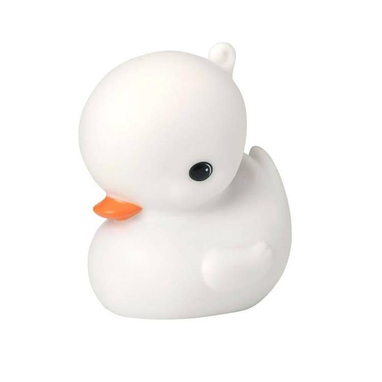 A Little Lovely Company Guirlandes et objets lumineux A Little Lovely Company DUCK-Veilleuse LED Canard H11.8cm Blanc