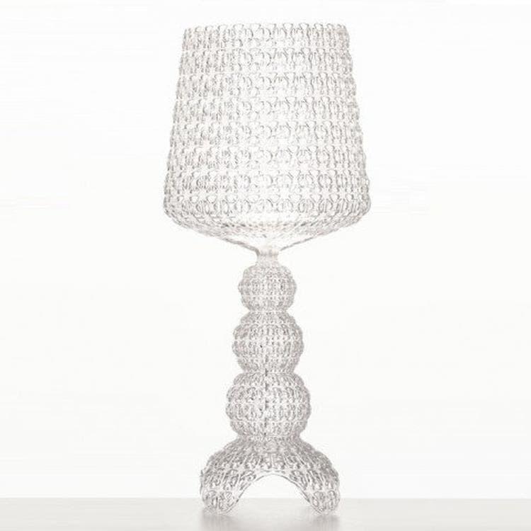 Kartell Lampe à poser Kartell MINI KABUKI-Lampe à poser LED H70cm Transparent