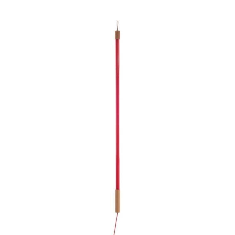 Seletti Néon Seletti LINEA-Lampe Néon LED H134,5cm Rouge