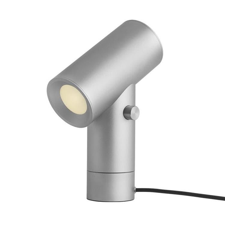Muuto Lampe à poser Muuto BEAM-Lampe à poser LED 2 lumières avec Variateur H26.2cm Argenté