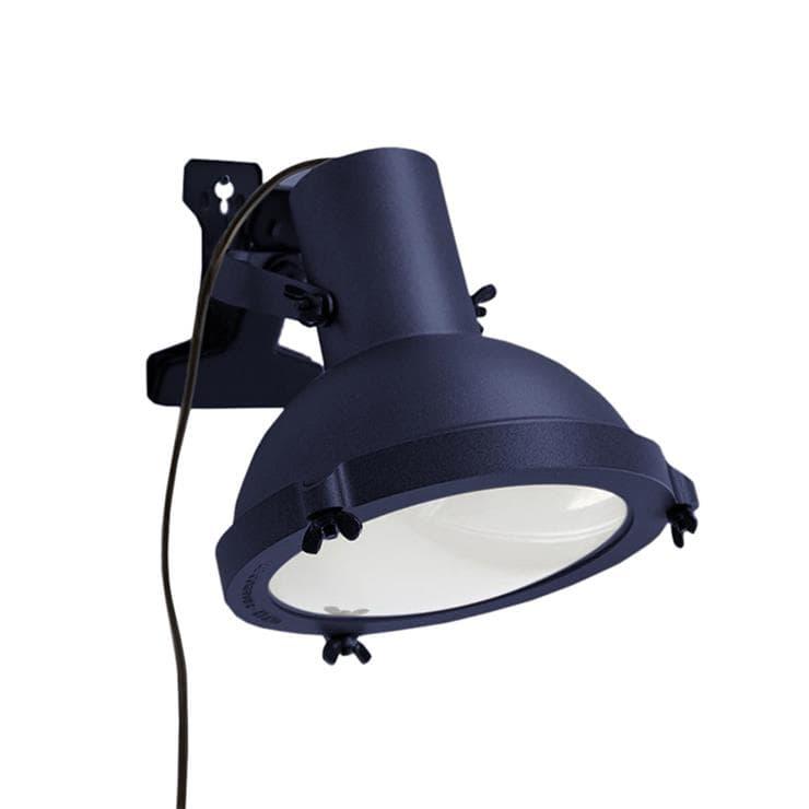 Nemo Applique murale Nemo PROJECTEUR 165 PINZA/CLIP-Lampe à pince H22cm Bleu