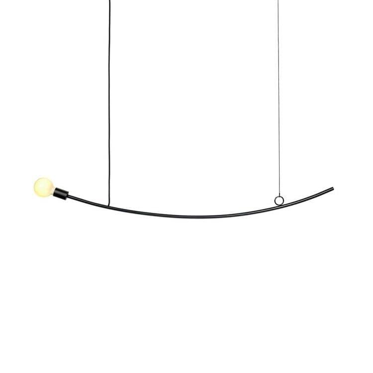 Serax Suspension Serax ACCENT-Suspension caoutchouc/fibre de verre L126cm Noir