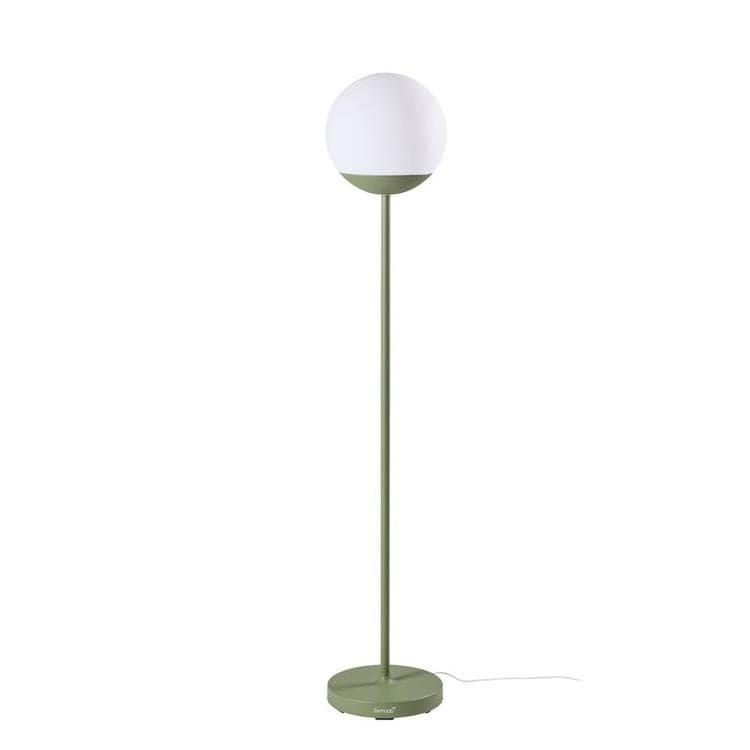 Fermob Lampadaire extérieur Fermob MOOON!-Lampadaire d'extérieur LED H134cm sans fil avec bluetooth Vert