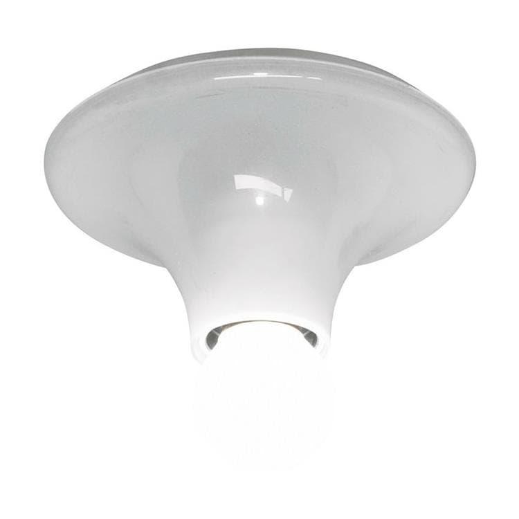 Artemide Plafonnier Artemide TETI-Applique ou plafonnier Polycarbonate Ø14cm Transparent