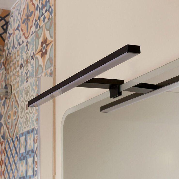 Inspire Applique murale Inspire SLIM-Applique LED pour salle de bain Métal L50cm Noir