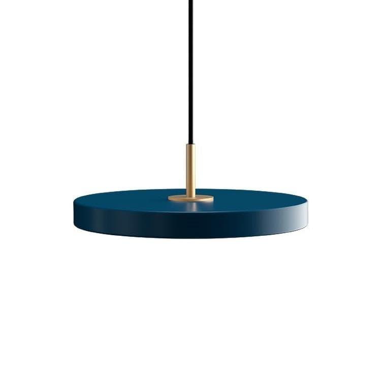 Umage (Vita Copenhagen) Suspension Umage (Vita Copenhagen) ASTERIA MINI-Suspension LED Acier/PMMA Ø31cm Bleu