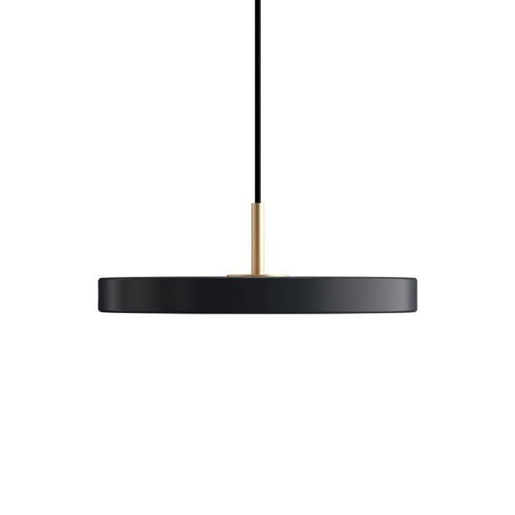Umage (Vita Copenhagen) Suspension Umage (Vita Copenhagen) ASTERIA MINI-Suspension LED Acier/PMMA Ø31cm Gris