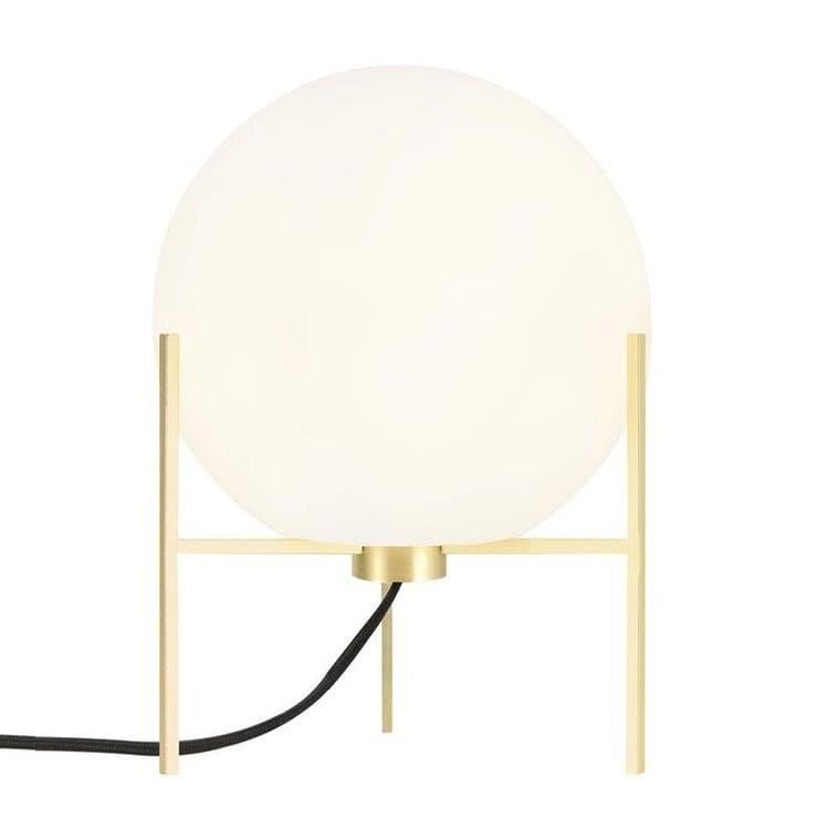 Nordlux Lampe à poser Nordlux ALTON-Lampe tripode Métal/Verre H29cm Blanc