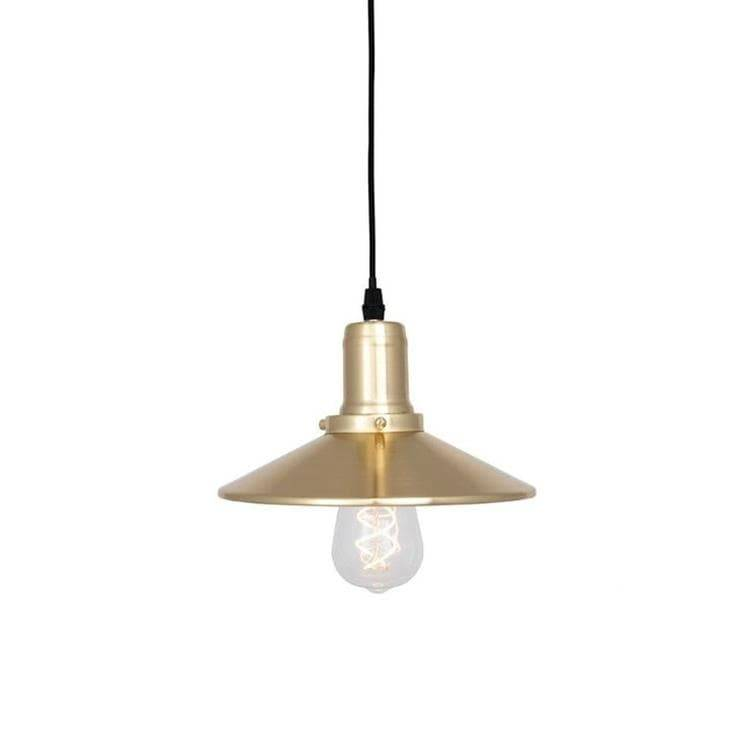 Globen Lighting Suspension Globen Lighting DISC-Suspension Métal Ø22cm Laiton