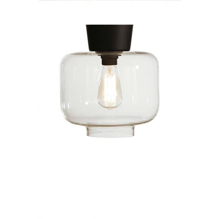 Globen Lighting Plafonnier Globen Lighting RITZ-Plafonnier Verre/Métal H26cm Transparent