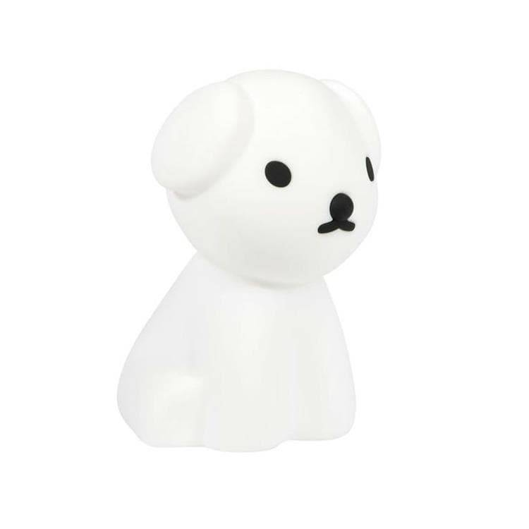 Mr Maria Veilleuse lumineuse Mr Maria FIRST LIGHT SNUFFY-Veilleuse LED rechargeable Chien H23cm Blanc