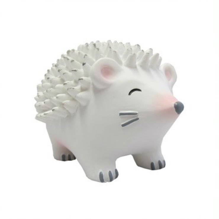 House Of Disaster Guirlandes et objets lumineux House Of Disaster HEDGEHOG-Lampe Veilleuse LED sans fil hérisson Résine H9cm Blanc