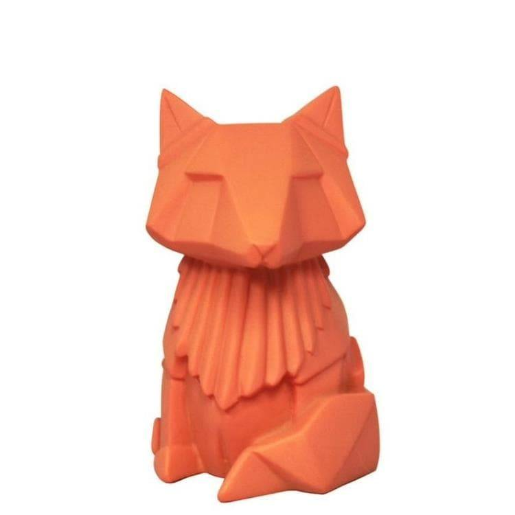 House Of Disaster Guirlandes et objets lumineux House Of Disaster FOX-Lampe Veilleuse LED sans fil renard Résine H13cm Orange