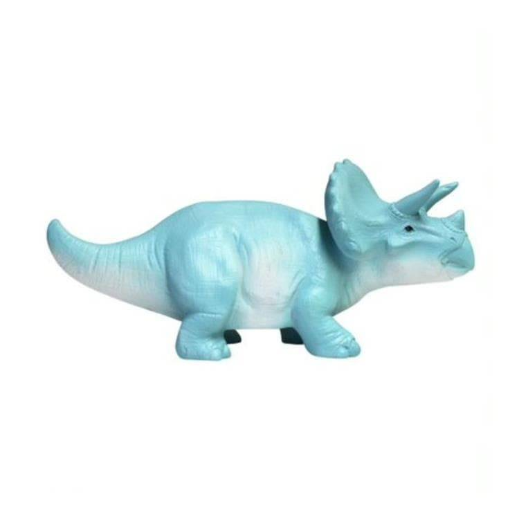 House Of Disaster Veilleuse lumineuse House Of Disaster TRICERATOPS-Lampe Veilleuse LED sans fil dinosaure Résine H8.5cm Bleu