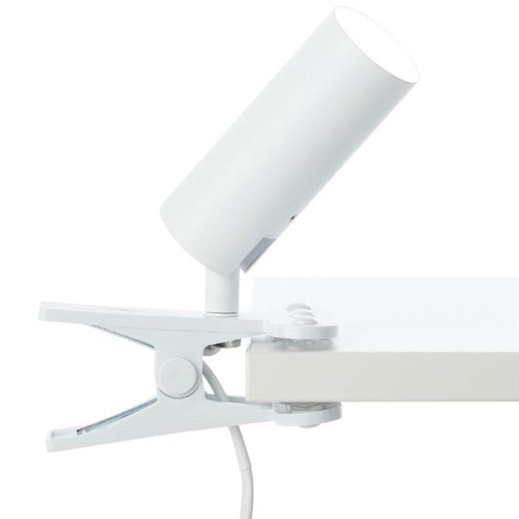 Brilliant Spot Brilliant SOEREN-Spot à pince LED orientable avec interrupteur Métal L17cm Blanc