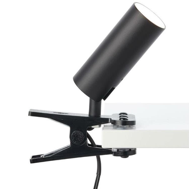 Brilliant Spot Brilliant SOEREN-Spot à pince LED orientable avec interrupteur Métal L17cm Noir