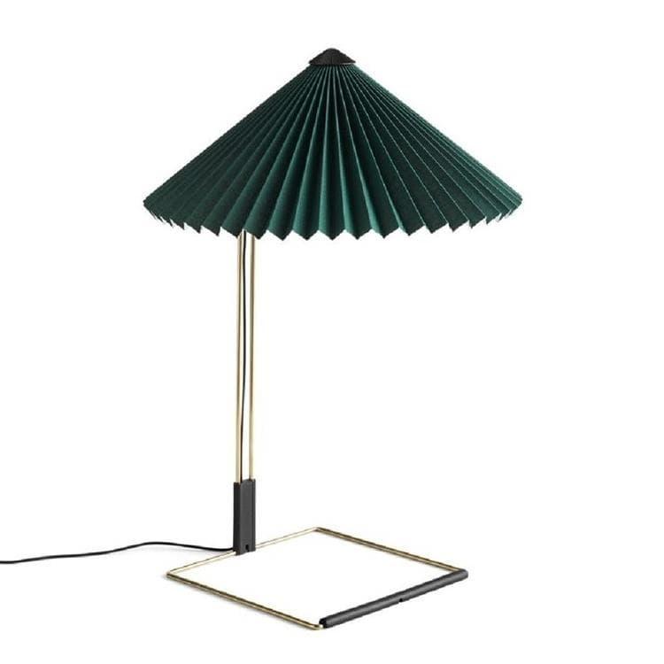 Hay Lampe à poser Hay MATIN LARGE-Lampe à poser LED Coton/Métal H52cm Vert