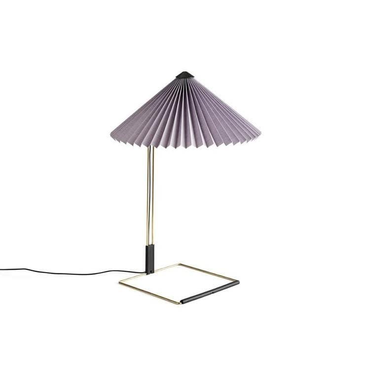 Hay Lampe à poser Hay MATIN SMALL-Lampe à poser LED Coton/Métal H38cm Violet