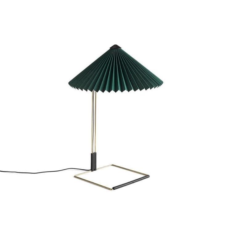 Hay Lampe à poser Hay MATIN SMALL-Lampe à poser LED Coton/Métal H38cm Vert