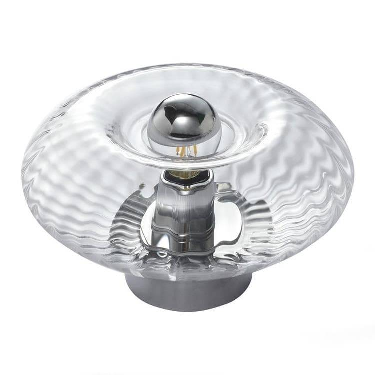 Elements Lighting Lampe à poser Elements Lighting GRACE-Lampe à poser Verre Ø20cm Transparent