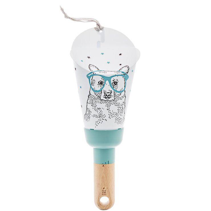 Polochon&Cie Veilleuse lumineuse Polochon&Cie PASSE- PARTOUT-Lampe Veilleuse LED Nomade OURS H28.5cm Bleu