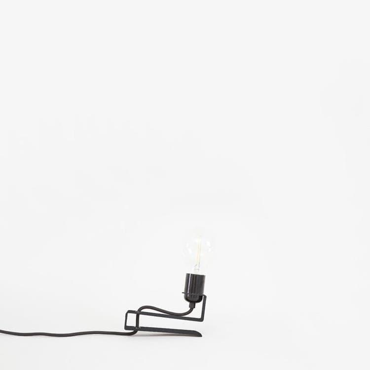 Frama Lampe à poser Frama AML CLAMP-Lampe à poser avec Pince Métal H4.6cm Noir