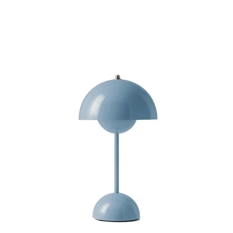 & Tradition Lampe à poser & Tradition FLOWERPOT VP9-Lampe à poser sans fil avec variateur tactile H29.5cm Bleu