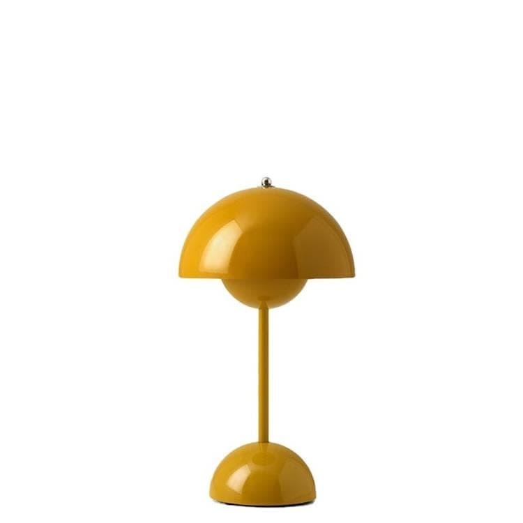 & Tradition Lampe à poser & Tradition FLOWERPOT VP9-Lampe à poser sans fil avec variateur tactile H29.5cm Jaune