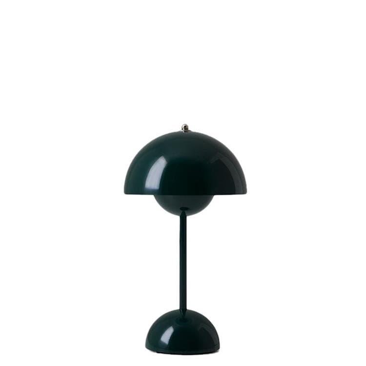 & Tradition Lampe à poser & Tradition FLOWERPOT VP9-Lampe à poser sans fil avec variateur tactile H29.5cm Vert