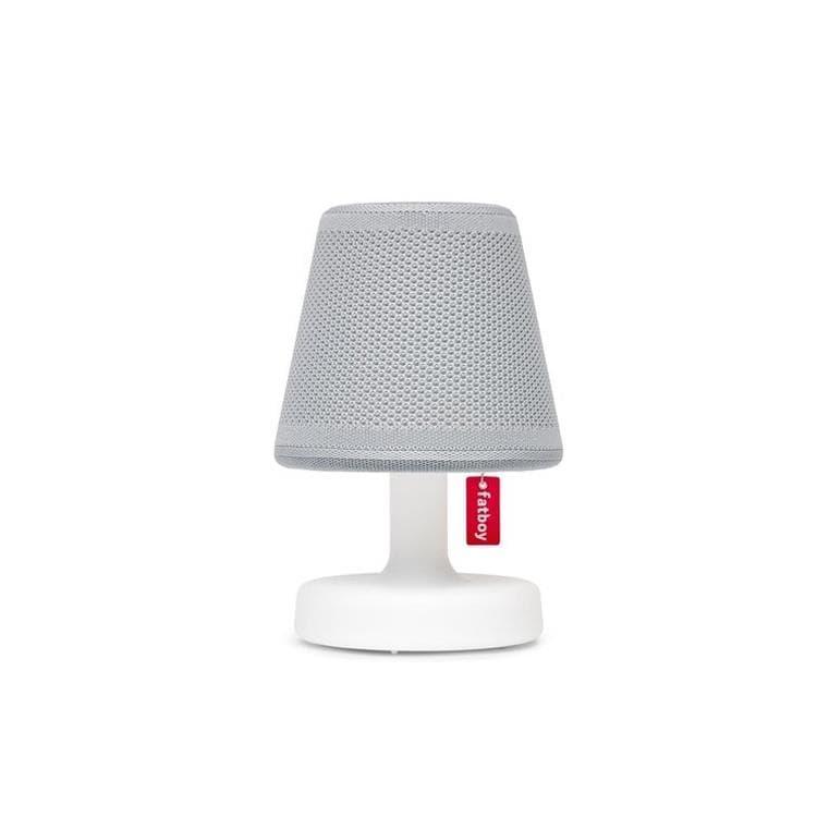 Fatboy Lampe à poser Fatboy EDISON THE PETIT HOODIE-Lampe à poser LED avec Abat jour Polyester rechargeable H25cm Gris